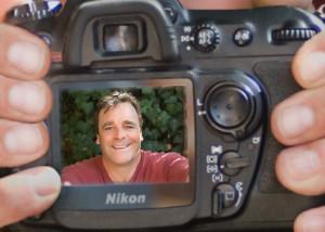Self portrait of Richmond photographer Dan Iott